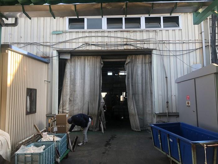 工場向け ビニールカーテン取付工事